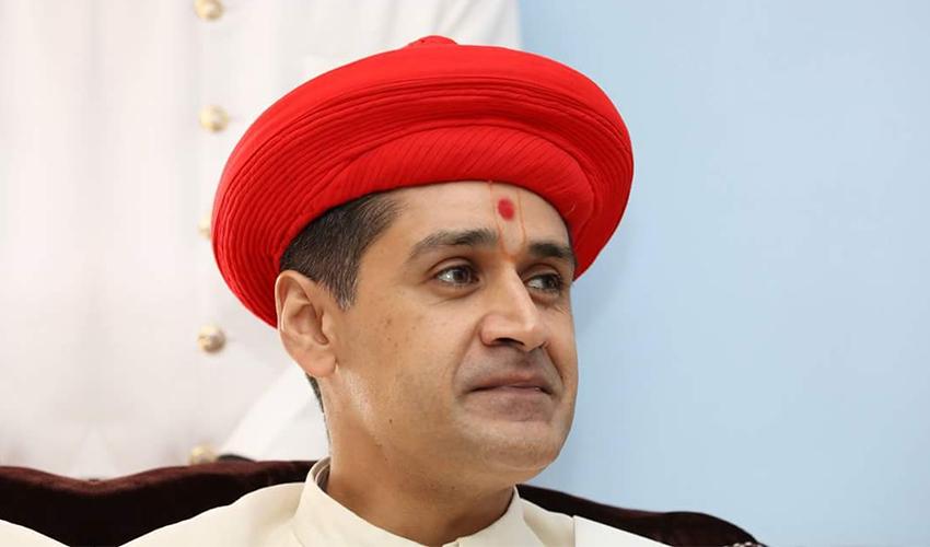 H. H. 1008 Acharya Shree Kaushlendra Prasadji Maharaj